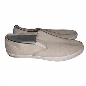 Men's sz 13 linen SeaVees slip on shoes